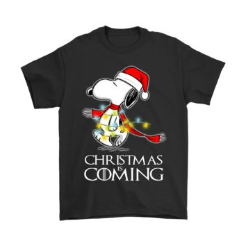 ESBINY Game Of Thrones Christmas Is Coming Snoopy Shirts