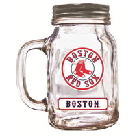 Duckhouse 16 Ounce Mason Jar - Boston Red Sox