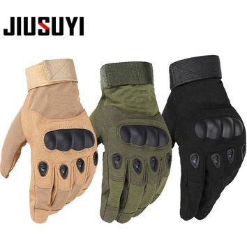Tactical Military Army Paintball Airsoft Combat Shooting Bicycle Motorcross Work Winter Hard Knuckle Full Finger Gloves
