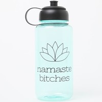Ankit Namaste Sports Bottle - Womens Scarves - Blue - NOSZ