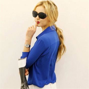 Top Notch Chiffon Blouse