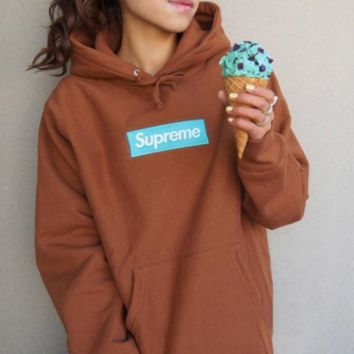 Supreme Box Logo Hoodie 17AW Trending Casual Long Sleeve Sweater G-CN-CFPFGYS