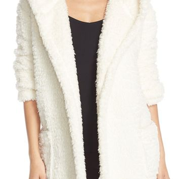 Make + Model 'Oh So Cozy' Hooded Cardigan | Nordstrom