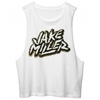 Warner Music Group Official Store - Camo Muscle tank