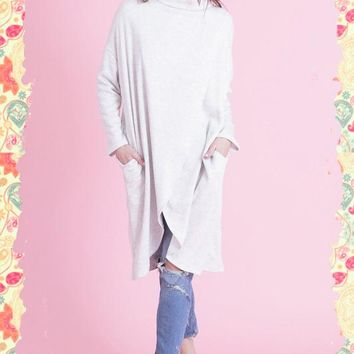Let's Wrap It Up Sleeved Poncho