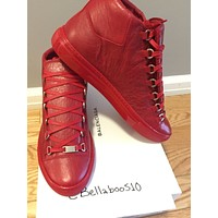 Balenciaga Arena Sneaker in Rouge Grenade RED Multiple Sizes