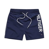 ONETOW Tommy Hilfiger Fashion Drawstring Leisure Sports Shorts