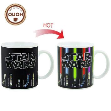 Star Wars Lightsaber Color Changing Coffee Cup