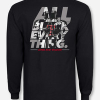 Texas Tech All Black Everything Long Sleeve