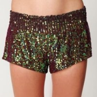 Sequin Boxer Short at Free People Clothing Boutique