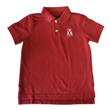 Alabama Youth Polo in Red