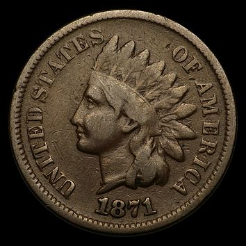 1871 Indian Head Cent VG
