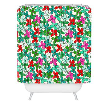 Holli Zollinger Bouquet Light Shower Curtain