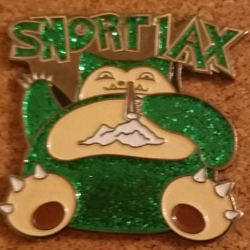 Snortlax Pokemon Hat Pin