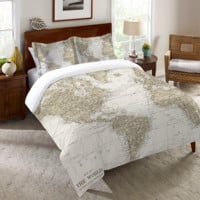 Get Out and See the World Duvet Cover