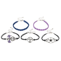 Purple Dragon Cord Bracelet Set