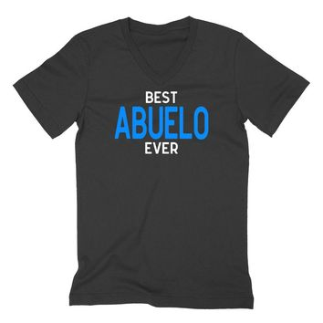 Best abuelo ever, grandparents gift, Father's day gifts, grandpa V Neck T Shirt