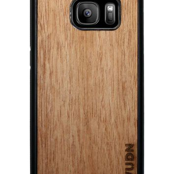 Slim Wooden Samsung Galaxy Case Black