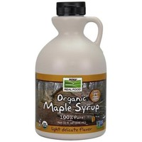 NOW Foods Real Food Organic Maple Syrup 32 fl oz - Walmart.com