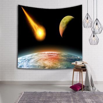 Stars in the Universe Printed Wall Tapestry Beach Towels Modern Style Yoga Mat Home Decor Table Cloth Wall Hanging Rugs Blanket