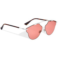 """dior so real pop"" sunglasses, pink - Dior"