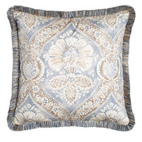 """Mazurka Pillow with Fringe, 20""""Sq. - Legacy Home"""