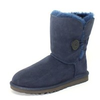 UGG Australia Bailey Button Womens Boots - 9.0/Navy