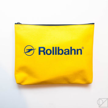 DELFONICS Rollbahn Medium Canvas Pouch