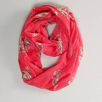 AEO Floral Loop Scarf | American Eagle Outfitters