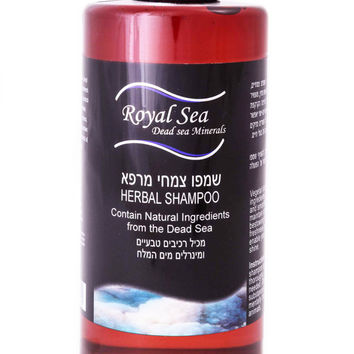 Royal Sea Dead Sea Minerals Herbal Shampoo For straightening and Growth, Hair Loss Treatment 500ml