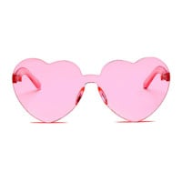 The Naked Heart Sunglasses Pink