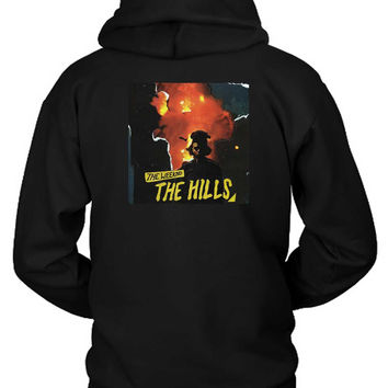 The Weeknd The Hills Cover Album Hoodie Two Sided