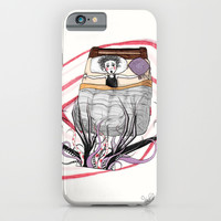 THE MONSTER PAINTED PART I iPhone & iPod Case by VinceGabriel