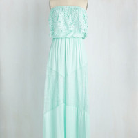 Popover Anytime! Dress in Mint