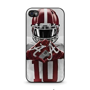 alabama tide bama football iphone 4 4s case cover  number 1
