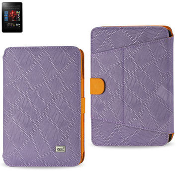 Magnetic closure CASE  Amazon Kindle Fire HD 7 inch PURPLE