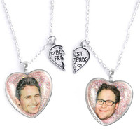 ROGEN & FRANCO FRIENDSHIP NECKLACES