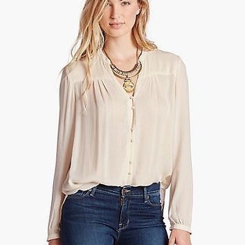 Field Peasant Top | Lucky Brand