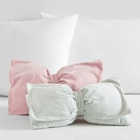 The Emily & Meritt Velvet Bow Pillows