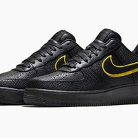 Best Deal Online Nike Air Force 1 Low Black Mamba Kobe Bryant 8 24 Black Gold Men Sneakers