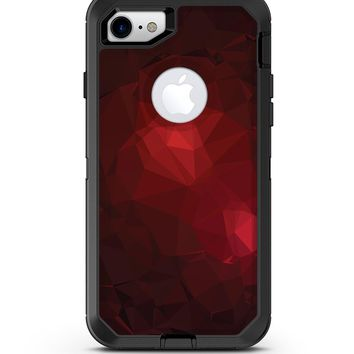 Varying Shades of Red Geometric Shapes - iPhone 7 or 8 OtterBox Case & Skin Kits
