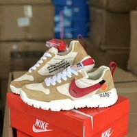 """Nike x OFF-White"" Unisex Casual Fashion Multicolor Breathable Running Shoes Couple Sneakers"
