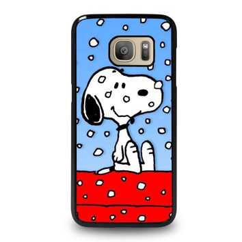 SNOOPY DOG CHRISTMAS Samsung Galaxy S7 Case Cover