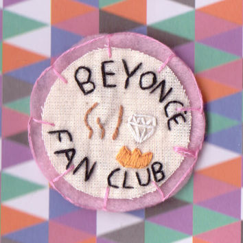 Beyonce Fan Club patch