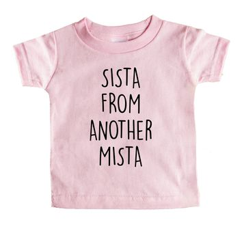 Sista From Another Mista Baby Tee