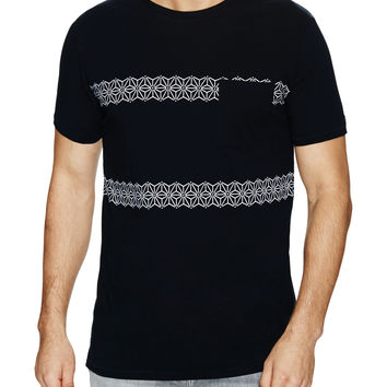 Zanerobe Men's Prism Cotton Tee - Black -