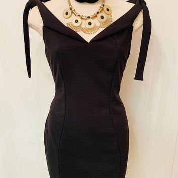 Black Dress Set - Medium