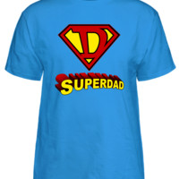 "Super Dad With ""D"" Logo T-Shirt"