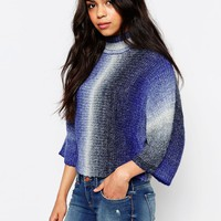 Only Gradient High Neck Pull Over Jumper