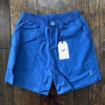 Southern Point Co - Blue Riptide Fishing Shorts